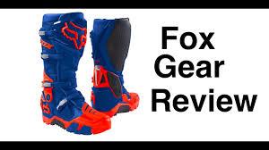 mc ride boots fox 360 flight gear and instinct offroad riding boots episode