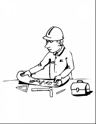 beautiful construction tools coloring pages with construction