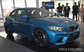 bmw car price in malaysia bmw m2 coupe launched in malaysia rm498 800