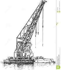 harbor crane royalty free stock photo image 32460665