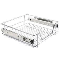 coulisse tiroir cuisine panier à coulisse cuisine tiroir de rangement unités 30 70cm