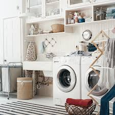 ivory laundry room cabinets design ideas