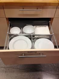 Kitchen Cabinet Plate Organizers Cookware Organizer Drawer Showplace Kitchen Convenience Kitchen