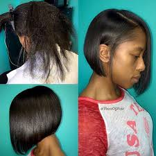 chin cut hairbob with cut in ends what a difference a cut makes love this healthy hair bob by