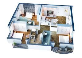3 bedroom home plans modern 3 bedroom house plans floor modern house plan