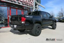 toyota jeep black toyota tacoma with 18in black rhino mojave wheels exclusively from