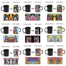 australian shepherd in heat color changing coffee mug picture more detailed picture about