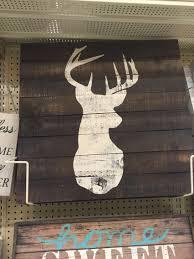 wood deer painting at hobby lobby christmas list 2015
