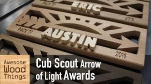 arrow of light award images cub scout arrow of light awards youtube