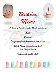 birthday menu templates u2013 19 free psd eps indesign format