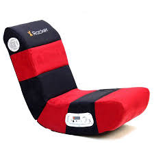 X Rocker Wireless Gaming Chair X Rocker 2 1 Wired Audio Gaming Chair Rave Red Black Walmart Com