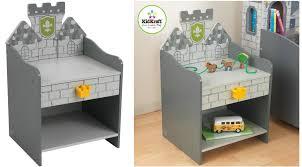 amazon kidkraft boy u0027s medieval castle toddler bed only 49 99