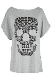 Halloween T Shirts Plus Size Womens Plus Size Tshirt Halloween Lagenlook Loose Baggy Top Ladies