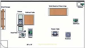 wood workshop layout images wood workshop plans plan the right type of layout for your