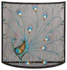 Fireplace Metal Screen by Classic And Lovely Inspired Bird Metal Fireplace Screen Home