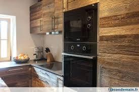 cuisine vieux bois panneaux trois plis vieux bois secondemainfr panneaux trois plis