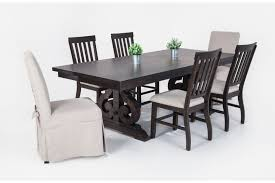 bobs furniture kitchen table set sanctuary 7 dining set bob s discount furniture