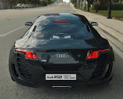 Audi R8 Old - new audi rsd concept by steel drake