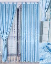 Blue Curtains Bedroom Custom Made Curtains Simple Living Room Dining Or Bedroom Light