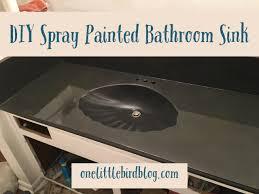 diy spray paint bathroom vanity spray paint bathroom vanity