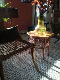 My Ugly Split Level Dining Room Stylized Side Table by Book And Room