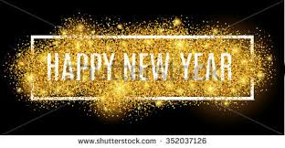 happy new year gold glitter 2017 stock vector 350495285 shutterstock