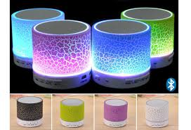 led light bluetooth speaker mini led light up bluetooth speaker with usb microsd fm radio