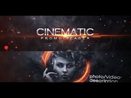 Cinematic After Effects Templates cinematic promo teaser after effects template