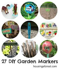 Vegetable Garden Labels by 27 Diy Garden Markers Housing A Forest