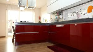 Professionally Painted Kitchen Cabinets by How To Paint Laminate Kitchen Cabinets Youtube