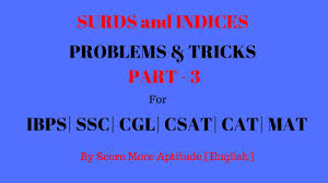 surds and indices problems and tricks part 3 youtube