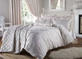 bedroom modern decorative curtains with luxury duvet covers in