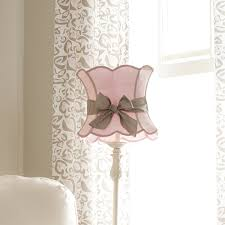 pink lamp shade with sash from carousel designs an exquisite pink