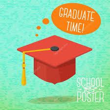 graduation poster school college poster graduation cap with