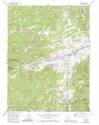 Cripple Creek Colorado Map by Divide Topographic Map Co Usgs Topo Quad 38105h2