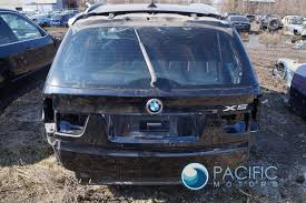 Bmw X5 Lifted - upper liftgate trunk deck lid hatch black sapphire 41627262544 bmw
