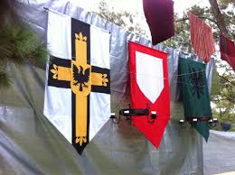 medieval decorations medieval banners i made for my 40th b u0027day medievalist