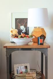 how to style an end table u2014 the fox u0026 she