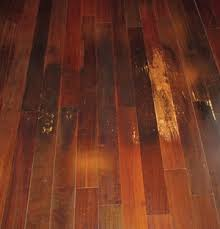 why is this prefinished wood floor rotting in place wood floor