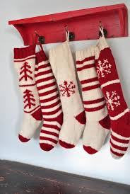 christmas stocking ideas best 25 knitted christmas stockings ideas on pinterest knitted