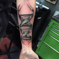 tattoo 3d mechanical realistic 3d bio mechanical tattoo make on forearm golfian com