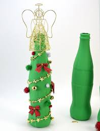 coca cola glass bottle tree craft hometalk