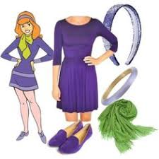 Fred Daphne Halloween Costumes Costume Daphne Blake Scooby Doo Dress Party