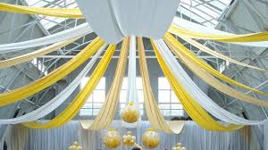 Ceiling Draping For Weddings Wedding Drapes Hire And Design Services Sxs Events