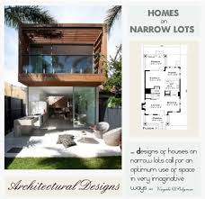 luxury home plans for narrow lots luxury narrow lot house plans zhis me