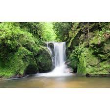 biggies 120 in x 60 in window well scene waterfall two ww wto window well scene waterfall two