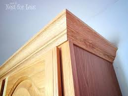 how to cut crown molding for kitchen cabinets kitchen cabinets moulding kitchen cabinet crown molding installation