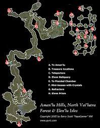 dungeon siege map dungeon siege ii northern aman lu environs map png papagamer