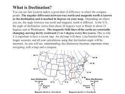 Magnetic Declination Map Revision 1 05 Copyright 1 3 2010 Robert J Smith Ppt Download