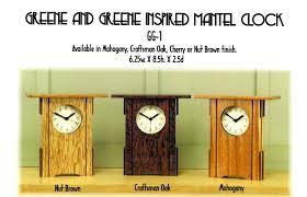 arts and crafts wall clock shenra com